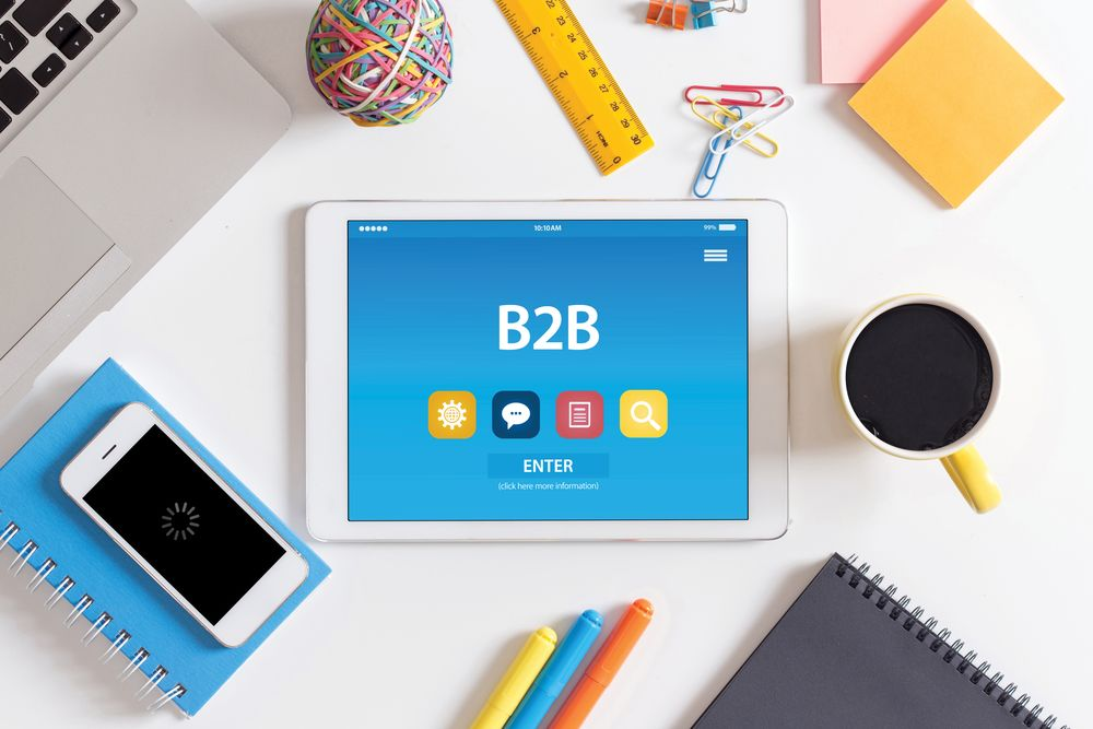 how does content marketing help the b2b sales process