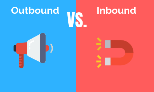 inbound marketing v outbound marketing in 2018