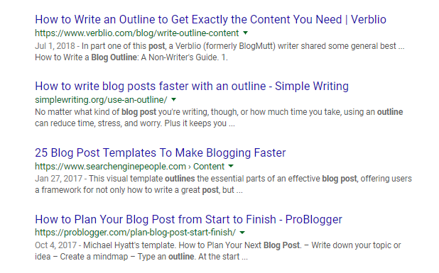 how to make the best blog content with the right keywords