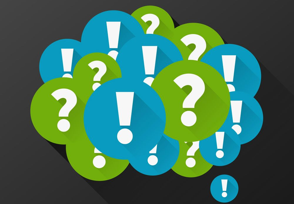 include questions in your content outlines to answer with your blog