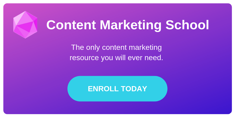 content marketing school