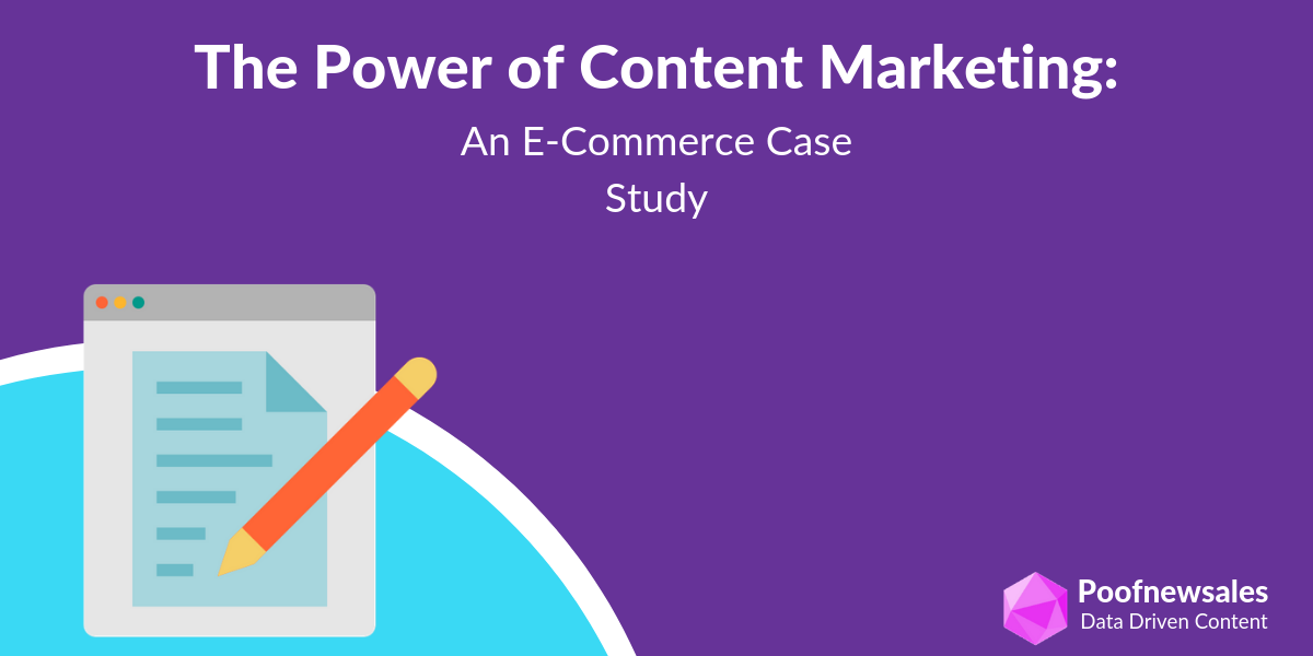 content marketing results in ecommerce